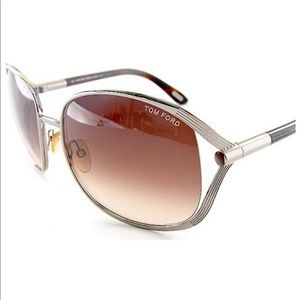 Tom Ford Margaux TF40 g43 brown sunglasses